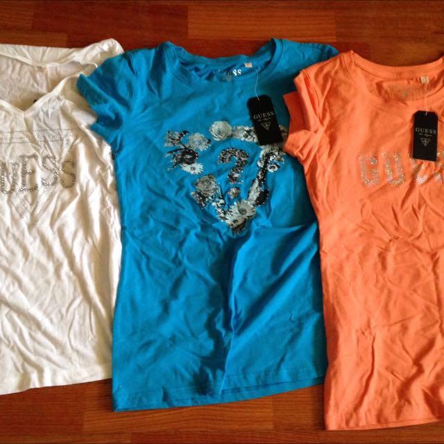 GUESS t-shirts