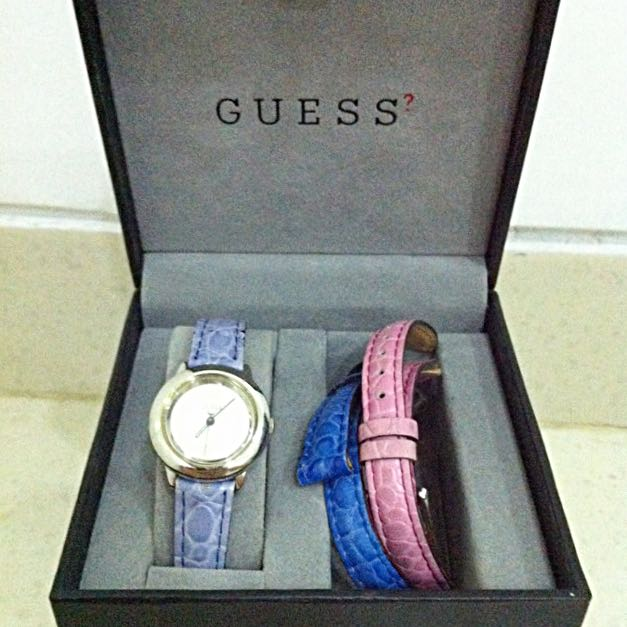 Guess Watch (3 Colors Band)