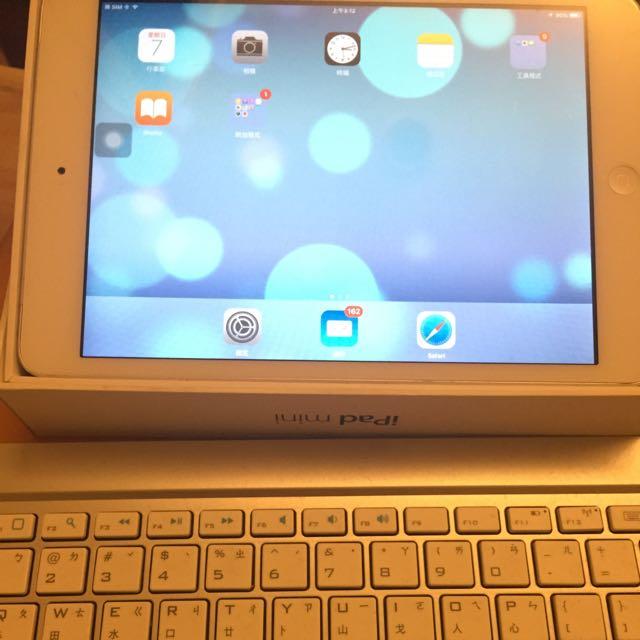 ipad mini 3g版--32G  送藍芽鍵盤