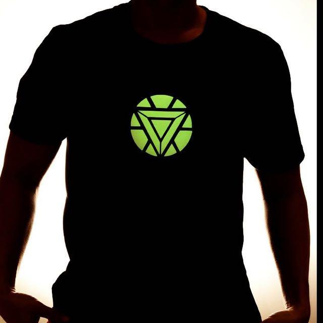 Ironman Glow In The Dark Reactor Shirt