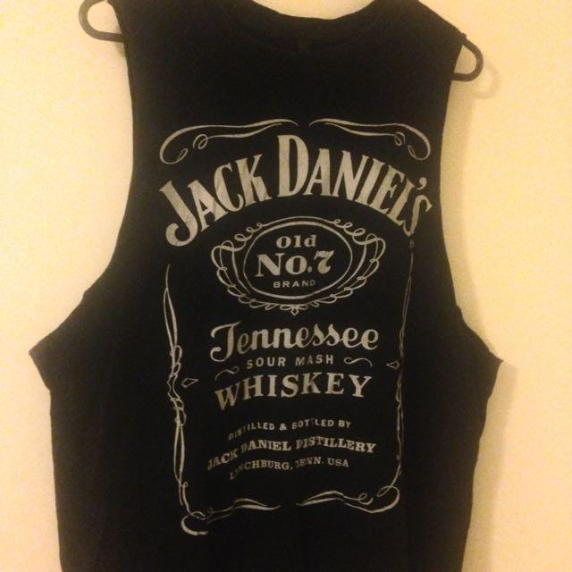 Jack Daniels Singlet
