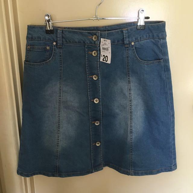 Kmart Denim Skirt
