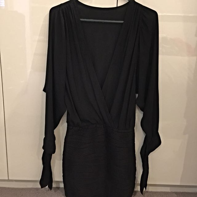LongSleeve Black Dress