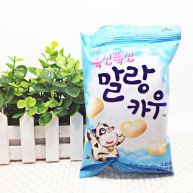 韓國-LOTTE樂天 🎈鮮奶棉花糖-鮮奶/香蕉(約20顆 /63g)
