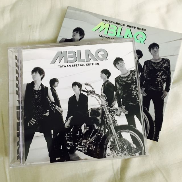 MBLAQ 首張專輯 CD+DVD