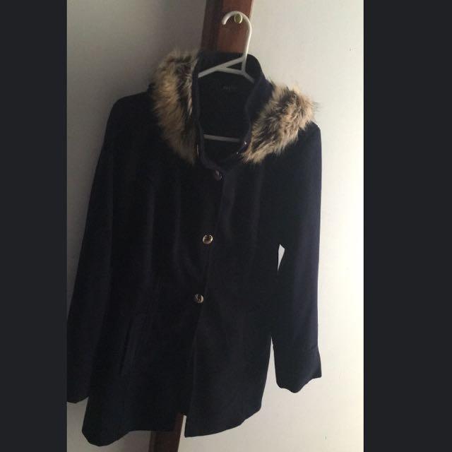 Navy Winter Coat Size 8