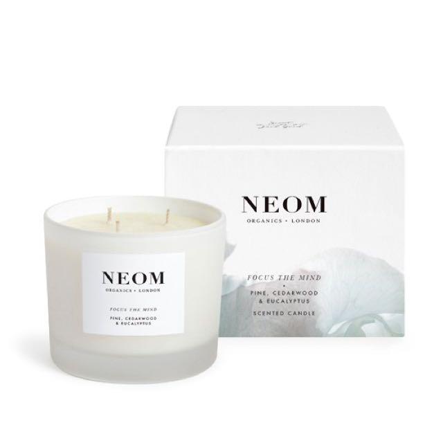 Neom平衡和諧三蕊香氛蠟燭