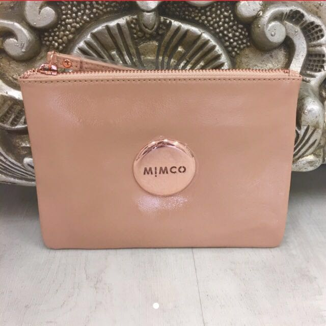 New Mimco Nude Pouch