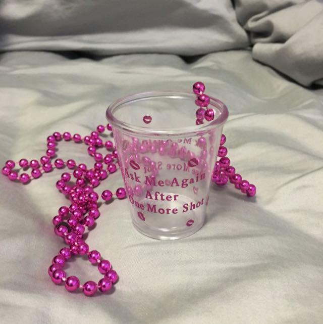 Novelty Shot Glass Necklace