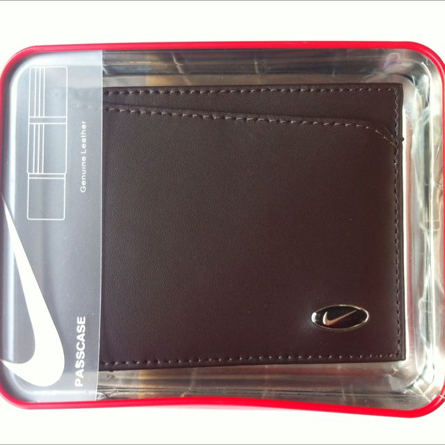Original Nike Leathet Wallet - brown