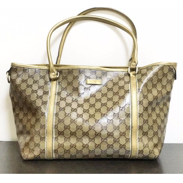 81661f28a Pre-owned Gucci Tote Crystal Joy bag, Luxury on Carousell