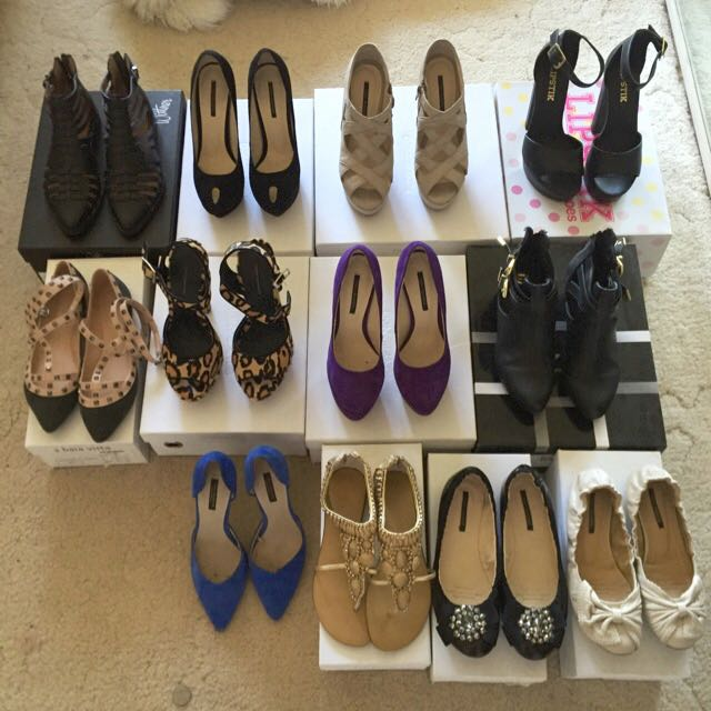 Range of Shoes - Size 5 and 5.5