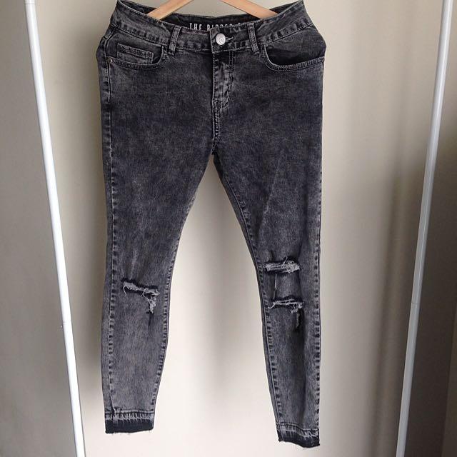 Ripped Black Skinny Jeans