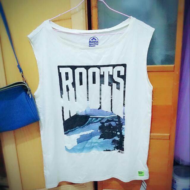 Roots時尚運動寬鬆背心 #轉轉來交換