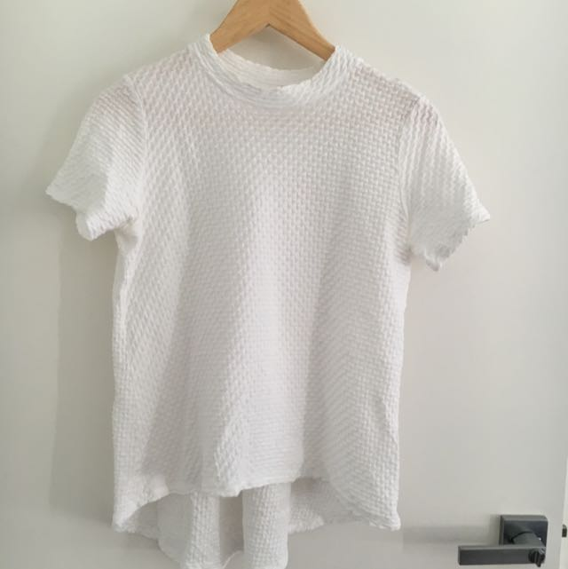 Seed XS White T-shirt/top