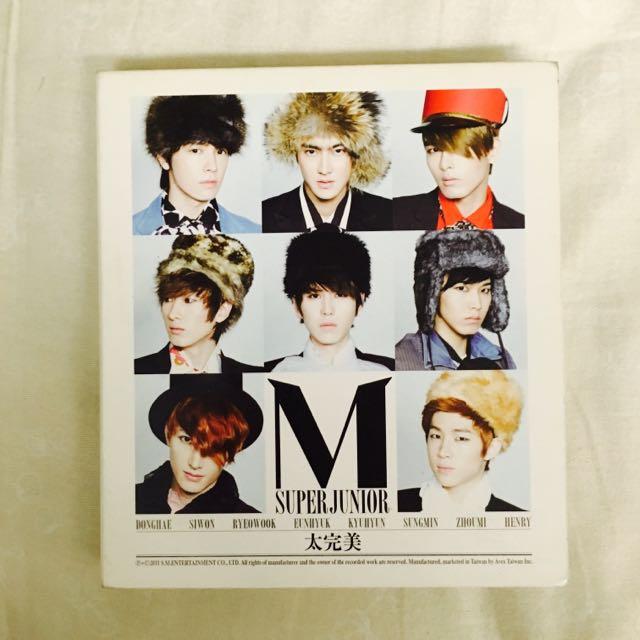 Super Junior M 太完美 CD 第二張迷你專輯