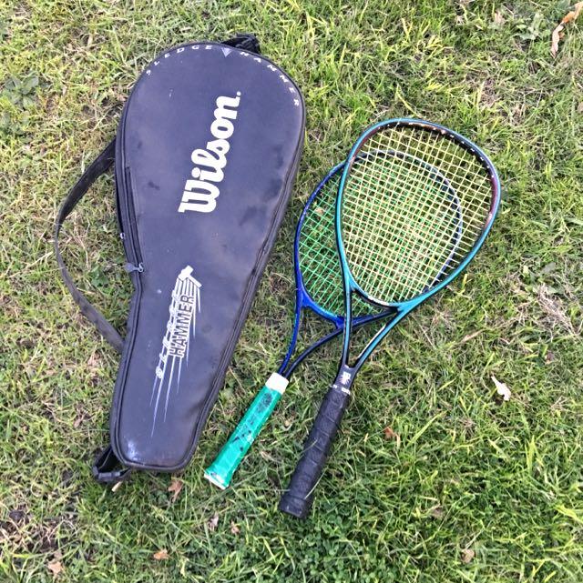 Tennis Rackets One Bag