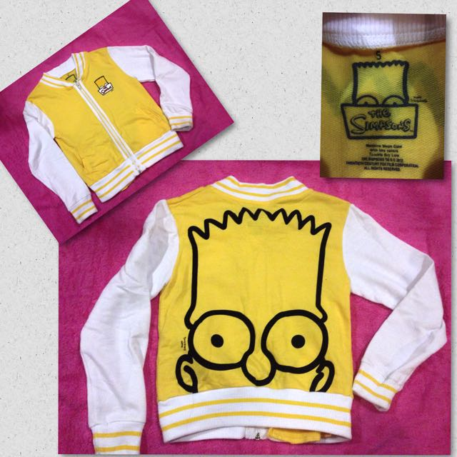 The Simpsons Jacket For Kids
