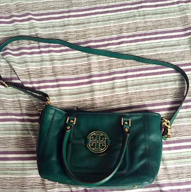 "Tory Burch ""Amanda Mini Satchel"" Crossbody Purse"
