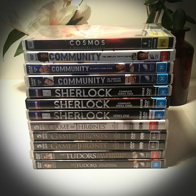 TV DVDs - Individual $2 Or Bulk $10