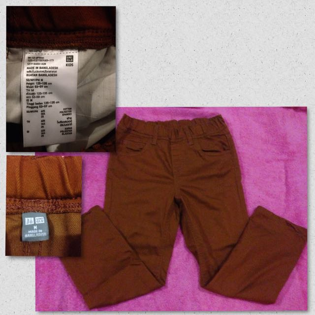 Uniqlo Pants For Kids