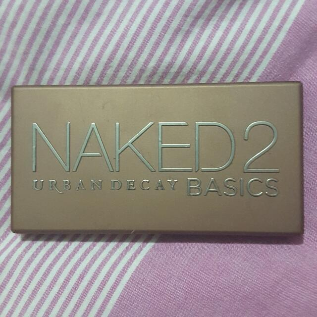 Urban Decay Naked 2 Basics Palette (Authentic)