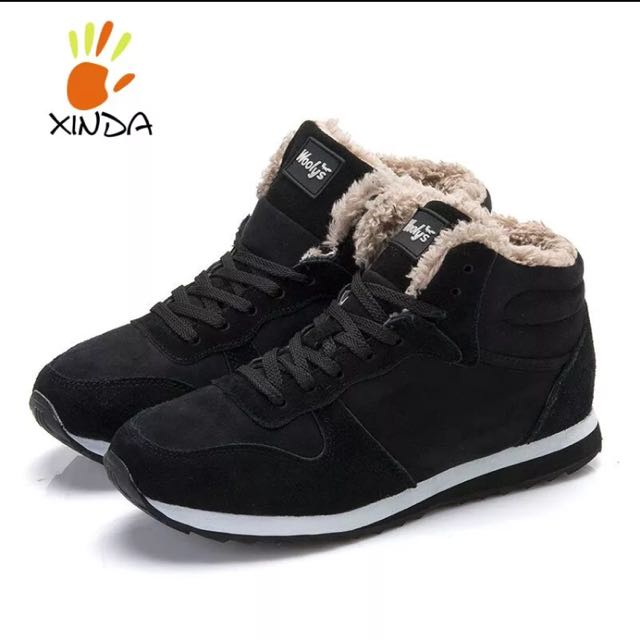 WINTER SHOES BOOTS Mens & Woman KEEP WARM THIS WINTER