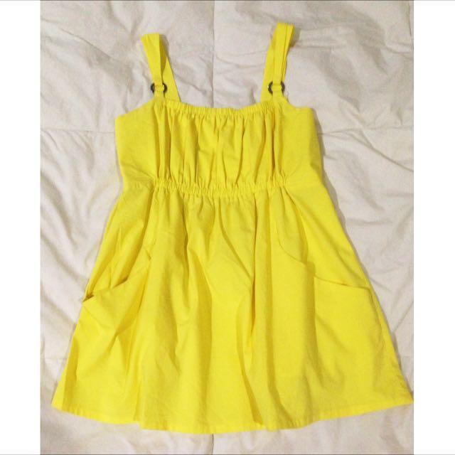 Yellow Loose Top