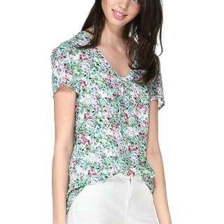 ESPRIT Short sleeve Tops 印花短袖上衣