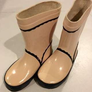 jacadi rain boots size EU22 US7