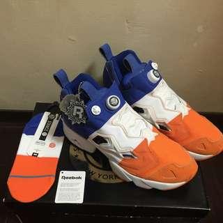 正品現貨 SNS x Packer x Reebok Pump Fury NYC 白藍橘配色 特價