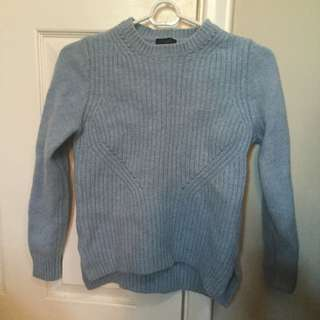 Blue J.crew Sweater