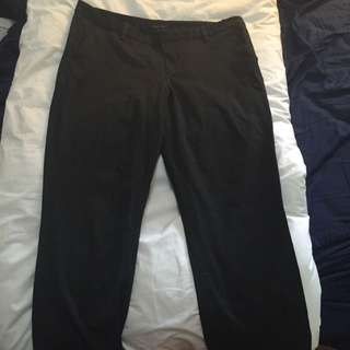 Dark grey Tommy Hilfiger Work Pants