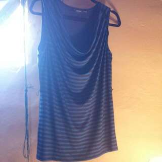 Candy couture XL blue and black shirt brand new