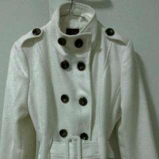 'ICE' Winter Jacket,  Creme Colour