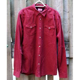 Scotch & Soda red shirt