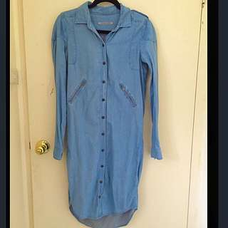 Scanlan&Theodore Denim Dress
