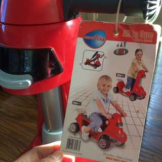 Smartrike All In One Ride And Scoot