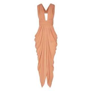 BNWT Sheike Dusk 'Bellini' Maxi Dress in size 12