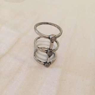 Lovisa Semi-Precious Stone Stack Ring
