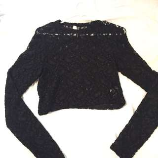 Ally Lace Crop
