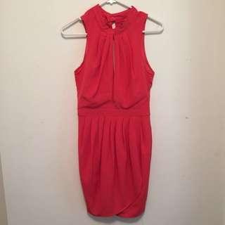 Rise Of Dawn Coral Dress