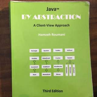 Java By Abstraction 3rd Ed