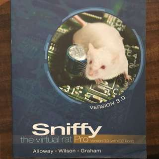 Sniffy The Virtual Rat Manual And Cd