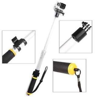 Aquapod Float Extension Pole For Action Camera