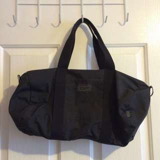 Black Onitsuka Tiger Duffel Bag