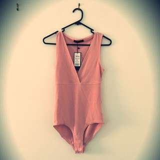 One Piece Body Suit Light Pink 8