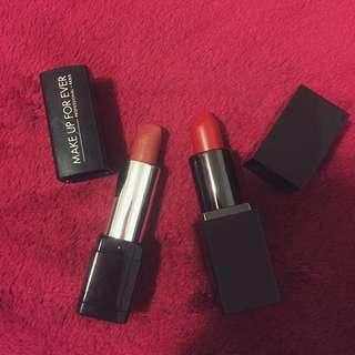 Laura Mercier & Make Up Forever Lipstick