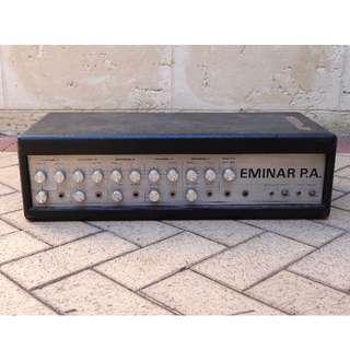 Vintage collectible 70s Eminar tube PA/Bass/Guitar amp