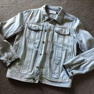 Topman Denim Jacket Size M